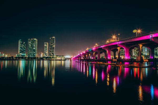 Miami - MacArthur Bridge