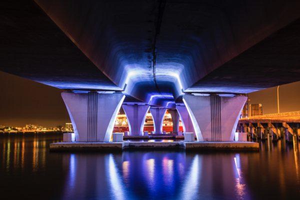 Miami - Mac Arthur Causeway Bridge