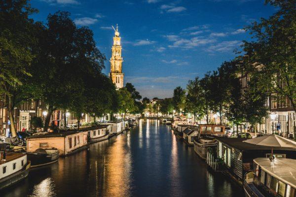 Amsterdam - Jordaan (By night)